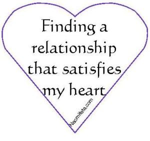 satisfies heart